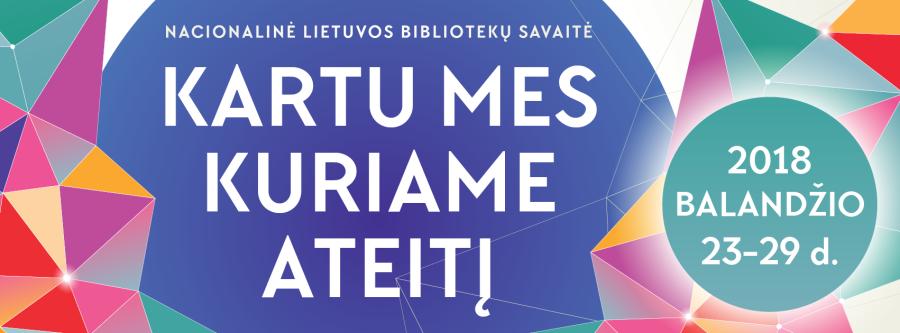 nacionaline lietuvos biblioteku savaite 2018